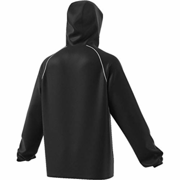 adidas Herren CORE18 RN JKT Sport Jacket, Black/White, L - 3