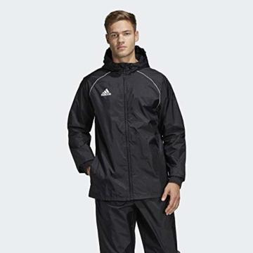 adidas Herren CORE18 RN JKT Sport Jacket, Black/White, L - 4