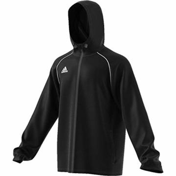 adidas Herren CORE18 RN JKT Sport Jacket, Black/White, L - 5