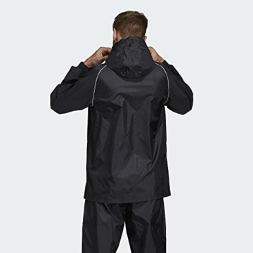 adidas Herren CORE18 RN JKT Sport Jacket, Black/White, L - 7