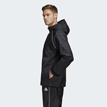adidas Herren CORE18 RN JKT Sport Jacket, Black/White, L - 8
