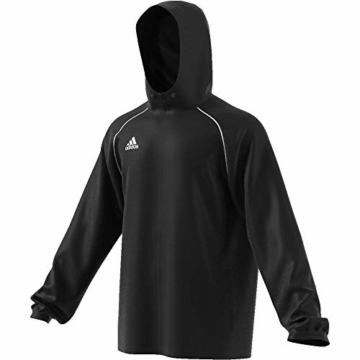 adidas Herren CORE18 RN JKT Sport Jacket, Black/White, L - 9