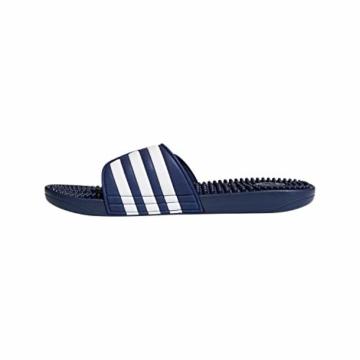 adidas Unisex-Erwachsene Adissage Dusch- & Badeschuhe, Blau (Azul 000), 43 EU - 4