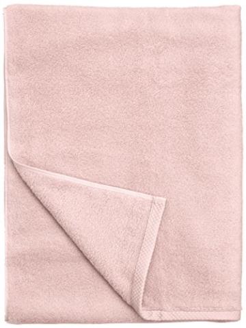 Amazon Basics - Handtuch-Set, schnelltrocknend, 2 Badetücher und 4 Handtücher - Blütenrosa, 100% Baumwolle - 2