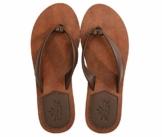 AX BOXING Zehentrenner Damen Flip Flops Schickes Einfach PU Leder Sandalen Sommerschuhe Hausschuhe Weich Strand Schwimmbad Drinnen/Draußen größe 36-42 - 1