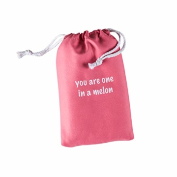 BEARFOOT Mikrofaser Handtuch mit Tasche   schnelltrocknende Handtücher - Microfaser Saunatuch, XXL Strandtuch, Badetuch groß, Reisehandtuch   Reise, Strand, Sauna (Wassermelone 160x80) - 4