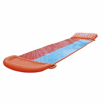 BESTWAY 52255 H2OGO Wasserrutsche Slide, Double, 549 cm Länge, Multicolor - 1