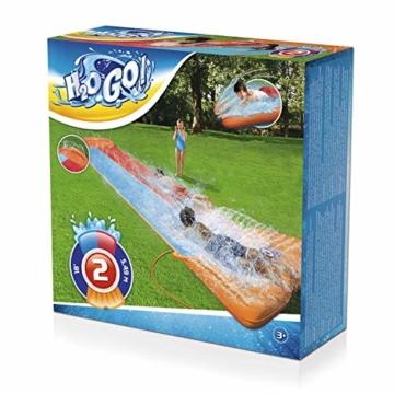 BESTWAY 52255 H2OGO Wasserrutsche Slide, Double, 549 cm Länge, Multicolor - 2