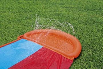 BESTWAY 52255 H2OGO Wasserrutsche Slide, Double, 549 cm Länge, Multicolor - 4