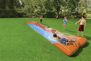BESTWAY 52255 H2OGO Wasserrutsche Slide, Double, 549 cm Länge, Multicolor - 8