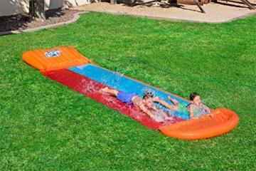 BESTWAY 52255 H2OGO Wasserrutsche Slide, Double, 549 cm Länge, Multicolor - 9
