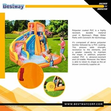 BESTWAY 53301 H2OGO Wasserpark mit Dauergebläse, Mehrfarbig, 365x320x270 cm - 15