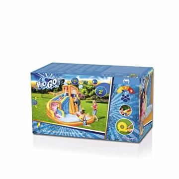 BESTWAY 53301 H2OGO Wasserpark mit Dauergebläse, Mehrfarbig, 365x320x270 cm - 2