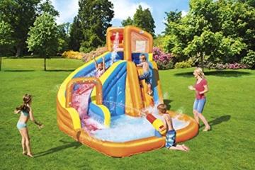 BESTWAY 53301 H2OGO Wasserpark mit Dauergebläse, Mehrfarbig, 365x320x270 cm - 6