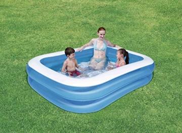 Bestway Family Pool aufblasbares Kinder-Planschbecken, 211 x 132 x 46 cm - 2