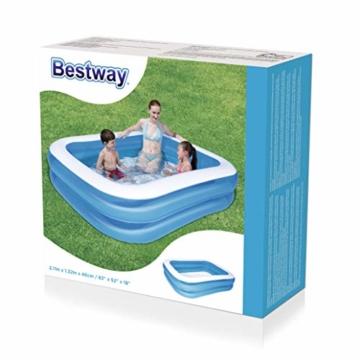 Bestway Family Pool aufblasbares Kinder-Planschbecken, 211 x 132 x 46 cm - 3