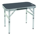 Bo-Camp Campingmöbel BC Tisch, abnehmbare Füße, Aluminium, 34x 56cm, Grau - 1