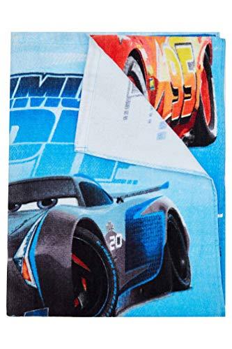 Cars Disney Maximum MPH Strandtuch, Badetuch, Handtuch 70 x 140 cm mit Storm, Cruz und Lightning McQueen aus 100% Baumwolle, für Kinder - 2