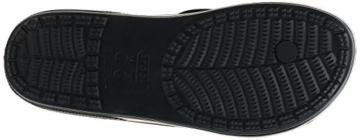 Crocs Unisex-Erwachsene Classic Ii Flip Zehentrenner, Black, 39-40 EU - 5