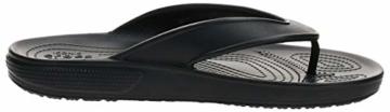 Crocs Unisex-Erwachsene Classic Ii Flip Zehentrenner, Black, 39-40 EU - 6