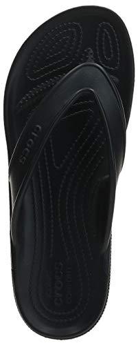 Crocs Unisex-Erwachsene Classic Ii Flip Zehentrenner, Black, 39-40 EU - 8