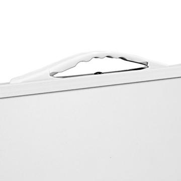 Deuba Alu Campingtisch Klappbar 80x60cm Mit Tragegriff Leicht & Faltbar Klapptisch Beistelltisch Falttisch Koffertisch Camping - 2