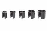 doppler Reduziereinsätze für Granit Sonnenschirmständer – Reduzierringe 5er Set – 52/48/38/32/25 mm - 1