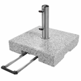 Doppler SL-AZ Granit Auszieh-Griff 72kg Sonnenschirmständer, grau - 1