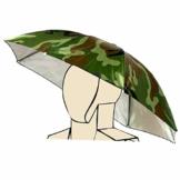 Elastisches Stirnband-Tarnungs-Muster Sun-Regen-Regenschirm-Hut-Kappe für Fischen-Strand-Golf- Armee-Grün-Handfreies Headwear-Schatten-Gartenarbeit-Fotografie-wandernder Hut, Bunte Neuheit durch So - 1