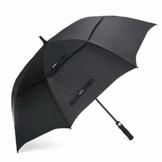 G4Free 54/62/68 Inch Automatische Öffnen Golf Schirme Extra große Übergroß Doppelt Überdachung Belüftet Winddicht wasserdichte Stock Regenschirme - 1
