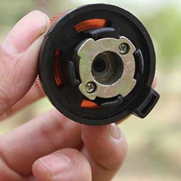 Gcroet Gas Adapter Gasadapter Sicher Durable Campingkocher Adapter Gas Conversion Kopfadapter Für Butan Kanister Schraube Gaskartusche Kolben Adapter - 5