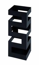 Haku-Möbel Schirmständer, schwarz - 1