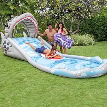 Intex Surf 'N Slide - Kinder Aufstellpool - Planschbecken - 442 x 168 x 163 cm - Für 6+ Jahre - 4