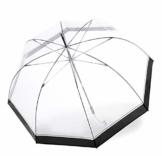 Knirps C.760 Regenschirm Stockschirm Stick transparent durchsichtig Hyperion - 1