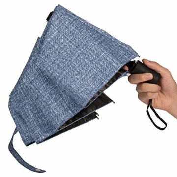 kova Vollautomatischer Sonnenschutz mit großem Klappschirm und UV-Schutz Doppel-Sonnenschirm für Männer und Frauen - 3