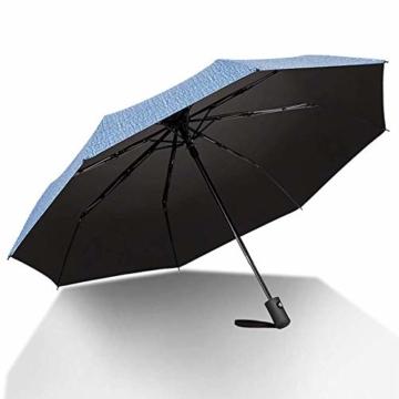 kova Vollautomatischer Sonnenschutz mit großem Klappschirm und UV-Schutz Doppel-Sonnenschirm für Männer und Frauen - 6