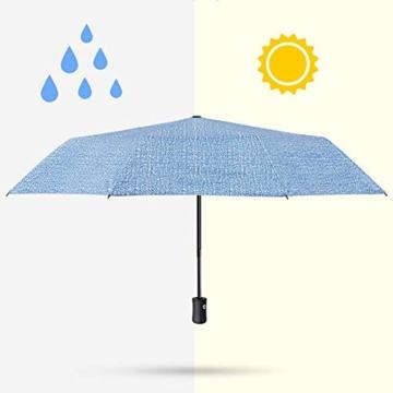 kova Vollautomatischer Sonnenschutz mit großem Klappschirm und UV-Schutz Doppel-Sonnenschirm für Männer und Frauen - 7