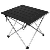 Linkax Tragbar Klapptisch Aluminium Campingtisch mit Tragetasche, Maximale Belastung 30 kg für Camping Picknick, Strand, Garten Grill - 1