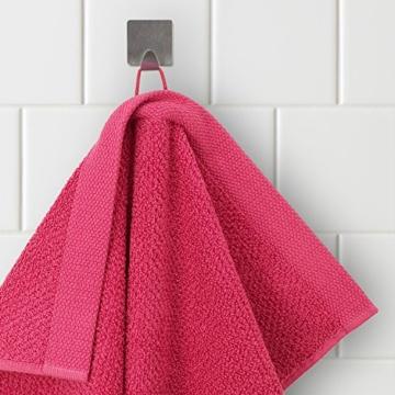 möve New Essential Handtuch 50 x 100 cm aus 100% Baumwolle, carmine - 2