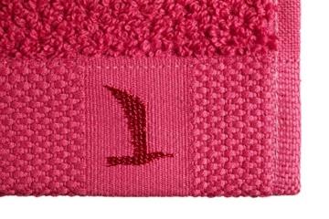 möve New Essential Handtuch 50 x 100 cm aus 100% Baumwolle, carmine - 3