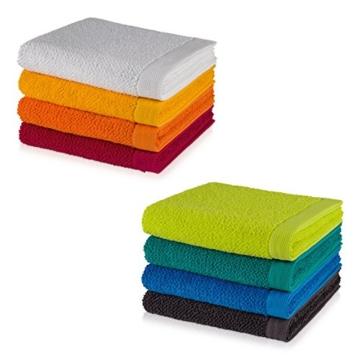 möve New Essential Handtuch 50 x 100 cm aus 100% Baumwolle, carmine - 4