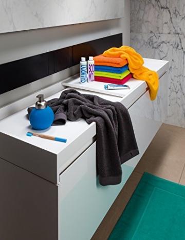 möve New Essential Handtuch 50 x 100 cm aus 100% Baumwolle, carmine - 5