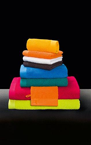möve New Essential Handtuch 50 x 100 cm aus 100% Baumwolle, carmine - 6