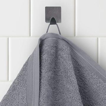 MÖVE Superwuschel Handtuch-Set, 3 Handtücher 50 x 100 cm, Made in Germany, 100% Baumwolle, stone - 2