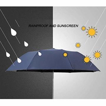 NBVCX Lebensdekoration Automatischer Regenschirm Geschäftsregen Dualuse Großer Kreativer Regenschirm Super Großer Doppel-Sonnenschirm Faltschirm - 4