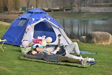 Night Cat Aufblasbare Isomatte Luftmatratze Tragbare Leichte Mit Kissen für Camping Wandern Wandern - 7