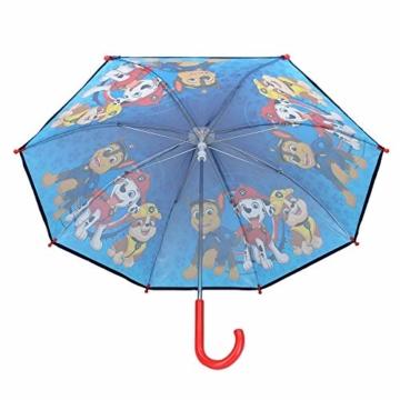 Paw Patrol Kinder Regenschirm Stockschirm, ∅ 72 cm, blau - 2