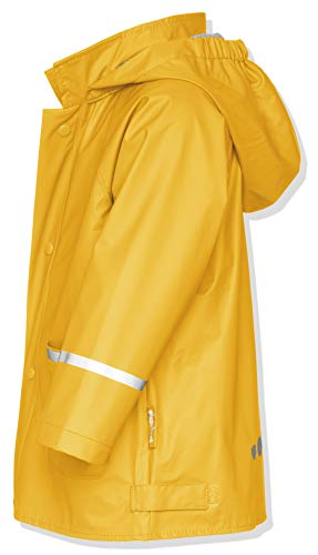 Playshoes 408638 Giacca Impermeabile - Regenjacke Basic, 104 cm, Giallo (12 Gelb) - 5