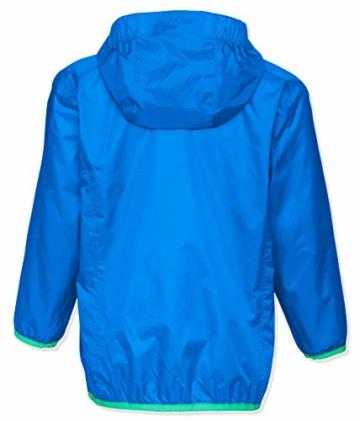 Playshoes Unisex Kinder Faltbare Funktions-Jacke Regenjacke, Blau 7, 104 - 2