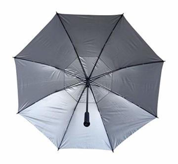 PROCELLA Regenschirm Sturmfest – Golf Schirm mit UV-Schutz für Herren und Damen - Automatisches Öffnen 157 cm - Doppellagig Winddicht Wasserdicht - Extra Groß Stockschirm XXL für Zwei Personen - 6